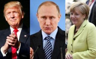 Casa Blanca: Trump quiere pedirle consejos a Merkel sobre Putin