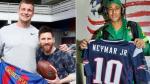 Los Patriots felicitaron a Barcelona por su histórica remontada - Noticias de messi y sus amigos