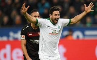 Bremen igualó 1-1 ante Leverkusen con tanto de Claudio Pizarro