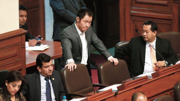 Fujimoristas critican que Kenji no se reúna con bancada