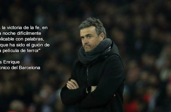 Barcelona: las mejores frases de la épica remontada ante PSG