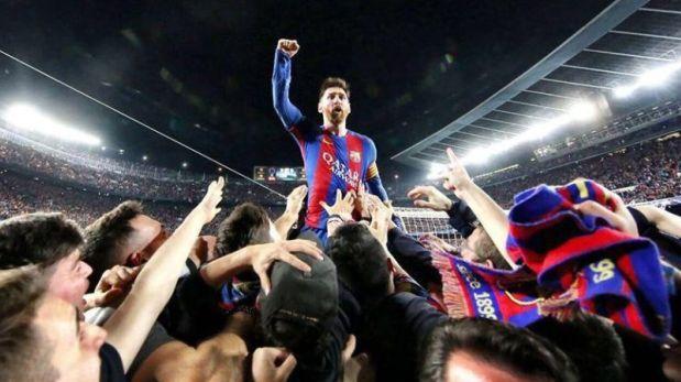 Mexicano tomó la épica imagen de Messi: