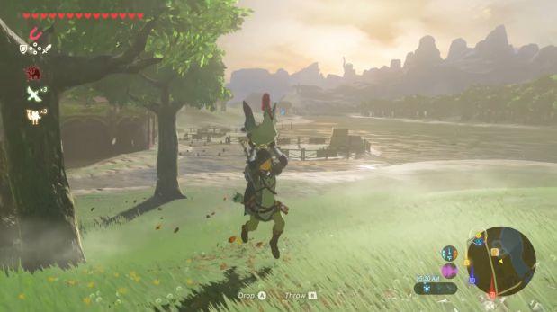 """Los pollos son la mejor arma en el nuevo """"The Legend of Zelda"""""""