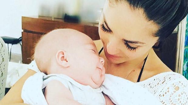 Anahí conmueve a sus fans con foto de su hijo Manuel