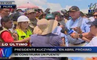 PPK llega a Piura a inspeccionar zonas afectadas por lluvias