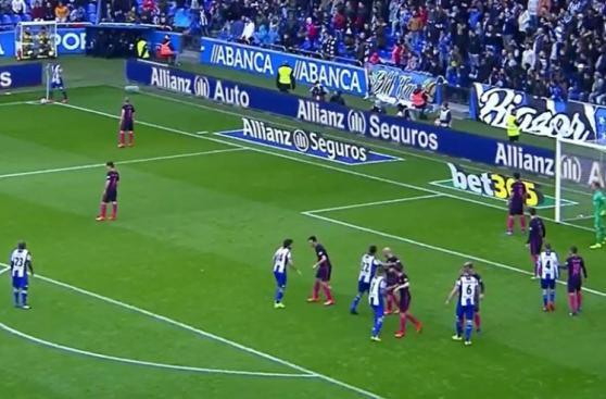 CUADROxCUADRO del gol que le quitó la punta al Barcelona
