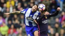 Barcelona perdió 2-1 ante La Coruña y cedió liderato