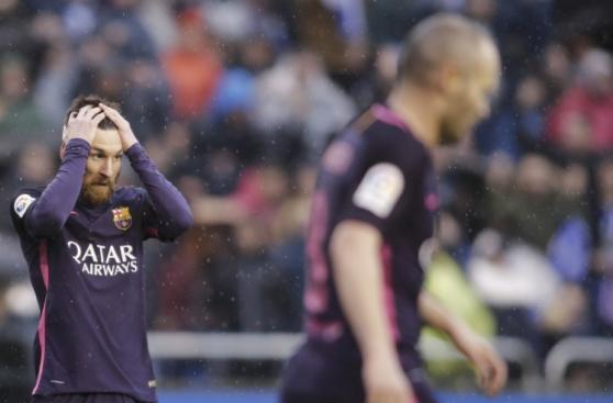 Barcelona: la frustración catalana luego de perder en Riazor
