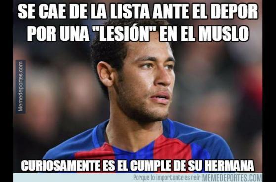 Barcelona: los despiadados memes de la caída ante el Deportivo