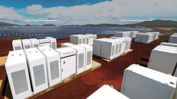 La gran planta solar que Tesla ha instalado en Hawái