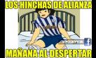 Alianza aplastó 7-2 a Juan Aurich: memes de goleada blanquiazul