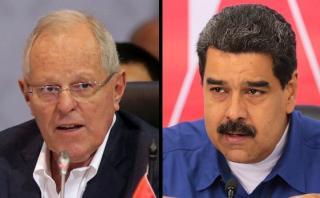 """Maduro no retrocede y rechaza """"declaraciones infames"""" de PPK"""