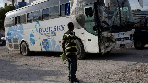 Haití: Cifra de víctimas mortales por bus en fuga asciende a 38