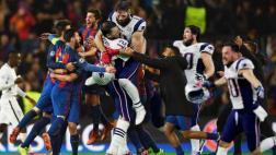 Brady comparó el último Super Bowl con la hazaña del Barcelona