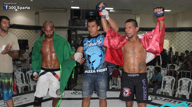 """MMA: Perú se impuso en duelo contra Brasil en el """"300 Sparta"""""""