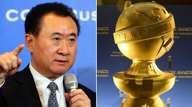 El hombre más rico de China intentó comprar los Globos de Oro