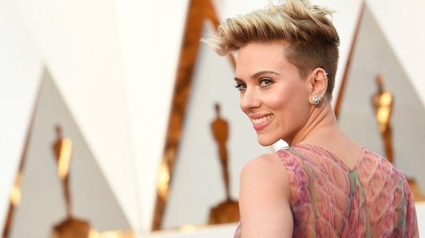 Scarlett Johansson en la última entrega del Oscar. (Foto: AFP)