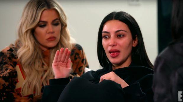 Kim Kardashian se quiebra y llora al recordar robo en París