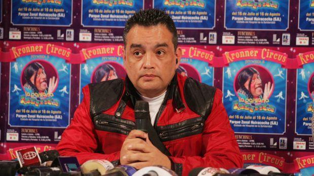 """Jorge Benavides: """"Película de la Paisana Jacinta es mi sueño"""""""