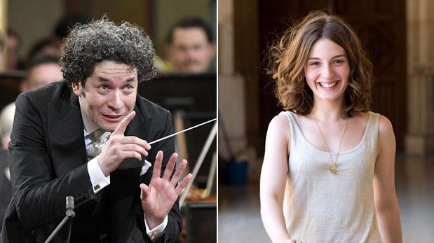 Gustavo Dudamel y María Valverde se casaron en secreto