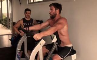 Chris Hemsworth se prepara así para interpretar a