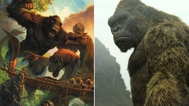 """""""King Kong: Skull Island"""": la película versus los cómics"""