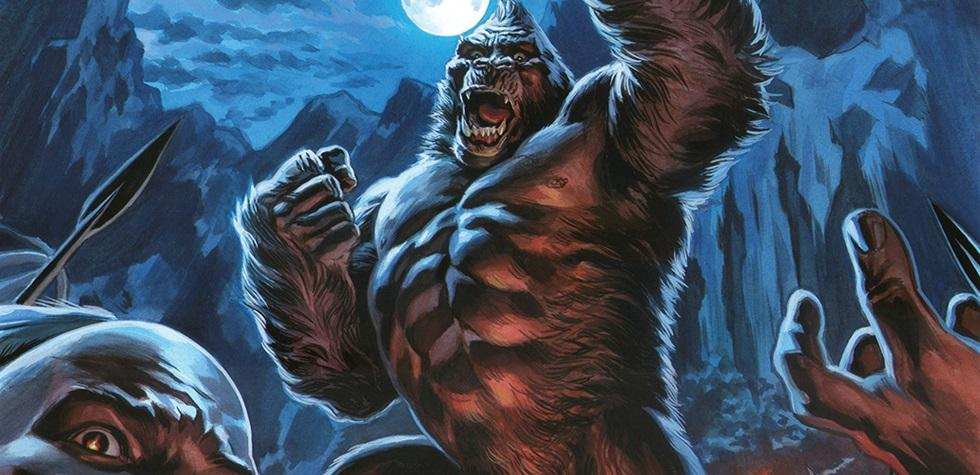 """El cómic de """"King Kong"""" versus la nueva película"""