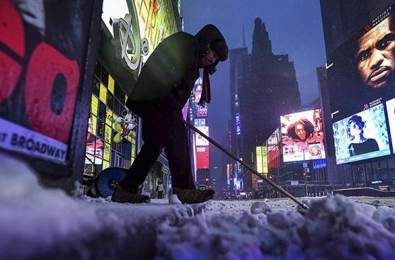 Nueva York: Tormenta Stella, la peor que va del año en EE.UU.