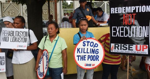 Según Amnistía, las principales víctimas son los habitantes de los barrios pobres, y a menudo los hombres, que suelen ser el medio de sustento familiar. (AFP)