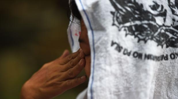 Sally Antonio ha pedido ser citada bajo un pseudónimo por miedo a represalias policiales. (AFP)