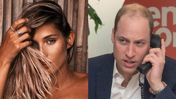 Príncipe William fue captado con modelo australiana en Suiza