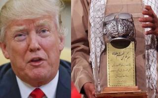 """Irán otorga a Trump premio a la """"personalidad ridícula"""" del año"""