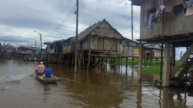 Advierten que el río Amazonas está a 30 cm. de nivel crítico