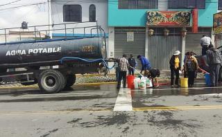Arequipa: cortarán agua potable por caída de huaycos