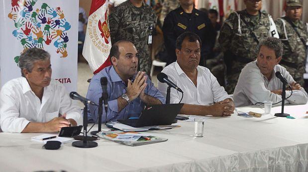 Dos ministros se quedarán en Piura por emergencias