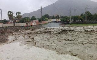 Áncash: huaico aísla a cinco pueblos en Nepeña
