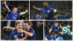 Leicester: eufórica celebración tras victoria en Champions - Noticias de samir nasri