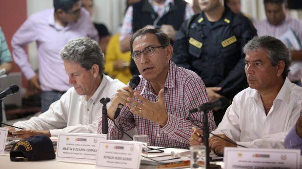 Martín Vizcarra busca reunirse con todas las bancadas