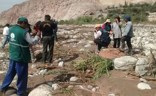 Arequipa: desborde de río Siguas deja una persona muerta