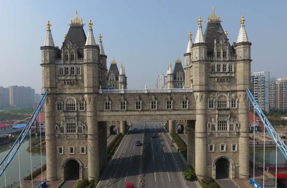 Conoce la ciudad china que copia puentes de todo el mundo