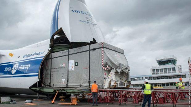 SES-15 llega a Guyana Francesa para ser lanzado en cohete Soyuz