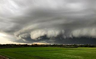 ¿Qué tipo de nube se formó ayer en Chiclayo?