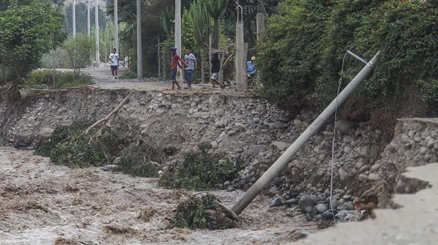 El devastador paso del río Lurín por Cieneguilla [FOTOS]