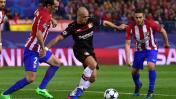 Atlético de Madrid eliminó al Leverkusen en la Champions League