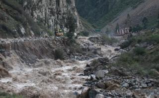 Suspenden clases en Chosica y Chaclacayo por intensas lluvias