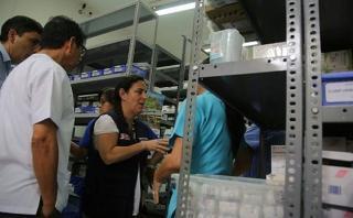 Ministra de Salud halló medicina dañada en hospital de Piura
