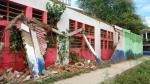 Piura: pared de un colegio se desploma por las lluvias - Noticias de elias fullana