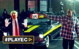 Donald Trump quiere preso a Snoop Dogg tras simular dispararle