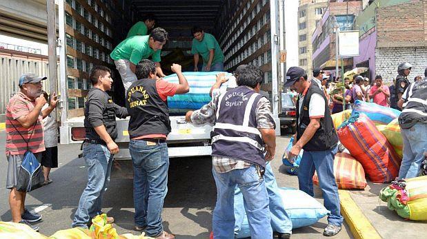 Se incautan más de S/1.130 mlls. en productos ilegales en 2016
