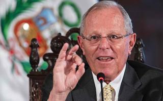 """PPK: """"Tengan fe, el gobierno se está ocupando de los huaicos"""""""